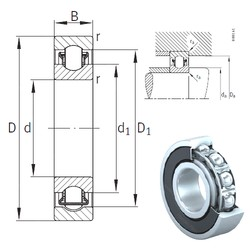 12 mm x 32 mm x 10 mm  INA BXRE201-2RSR Rodamientos De Agujas