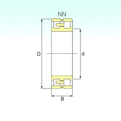 130 mm x 200 mm x 52 mm  ISB NN 3026 KTN9/SP Rodamientos De Rodillos