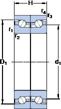 SKF BTM 90 BTN9/HCP4CDB Cojinetes De Bola