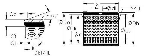 AST AST800 8530 Rodamientos Deslizantes