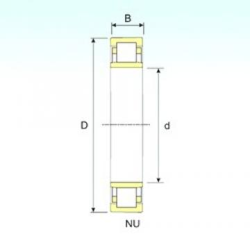 170 mm x 310 mm x 86 mm  ISB NU 2234 Rodamientos De Rodillos