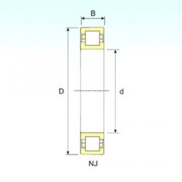 100 mm x 215 mm x 73 mm  ISB NUP 2320 Rodamientos De Rodillos
