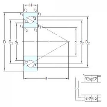 50 mm x 100 mm x 20 mm  SKF BSD 50100 CG Cojinetes De Bola