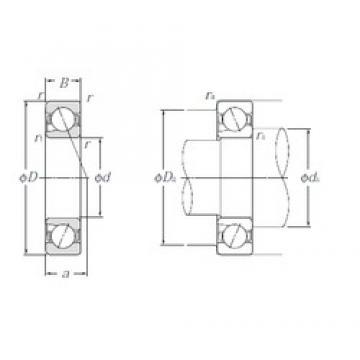 17 mm x 35 mm x 10 mm  NTN 5S-BNT003 Cojinetes De Bola De Contacto Angular