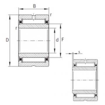 12 mm x 24 mm x 22 mm  INA NA6901-XL Rodamientos De Agujas