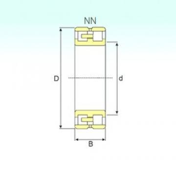 80 mm x 125 mm x 34 mm  ISB NN 3016 KTN/SP Rodamientos De Rodillos