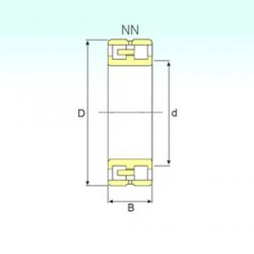 95 mm x 145 mm x 37 mm  ISB NN 3019 KTN9/SP Rodamientos De Rodillos