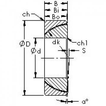 AST GAC30N Rodamientos Deslizantes