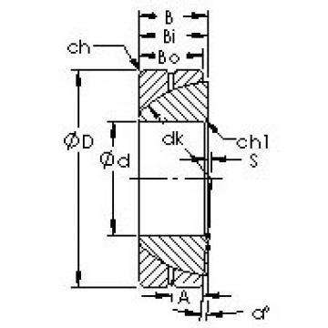 AST GAC28S Rodamientos Deslizantes