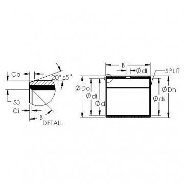 AST AST50 36IB60 Rodamientos Deslizantes