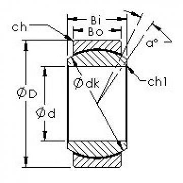 AST GEG10C Rodamientos Deslizantes
