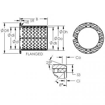 AST ASTB90 F25070 Rodamientos Deslizantes