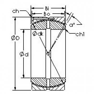 AST GEH530HCS Rodamientos Deslizantes