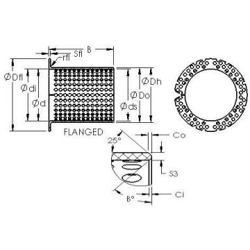 AST ASTT90 F22590 Rodamientos Deslizantes