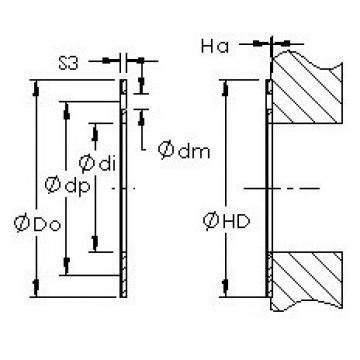 AST AST20 WC52 Rodamientos Deslizantes