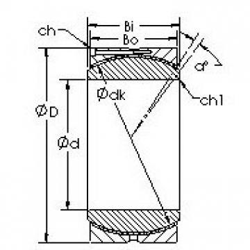 AST GEC440HC Rodamientos Deslizantes