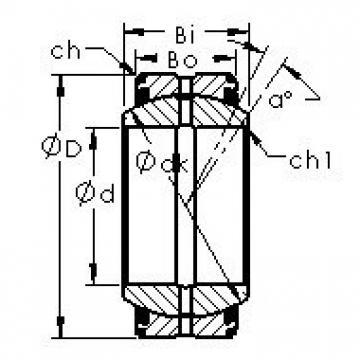 AST GEC400XS-2RS Rodamientos Deslizantes