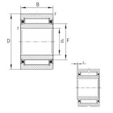 7 mm x 17 mm x 12 mm  INA NKI7/12-TN-XL Rodamientos De Agujas
