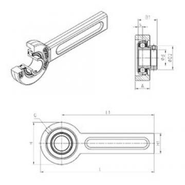 SNR ESSP208 Unidad De Rodamiento
