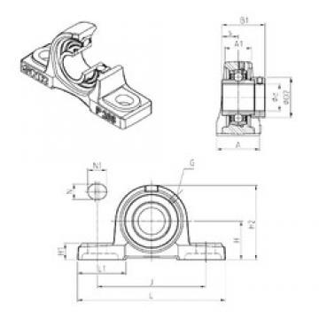 SNR EXP309 Unidad De Rodamiento