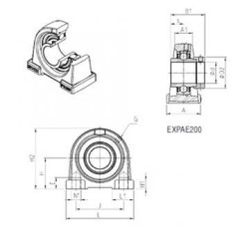SNR EXPAE208 Unidad De Rodamiento
