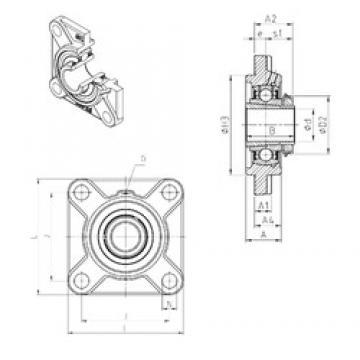 SNR UKFS313H Unidad De Rodamiento