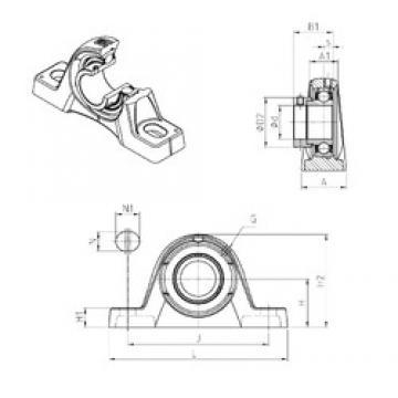 SNR ESPLE205 Unidad De Rodamiento