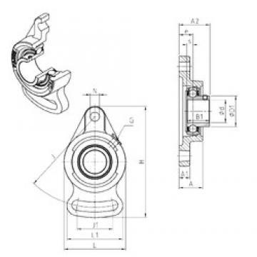 SNR USFA208 Unidad De Rodamiento