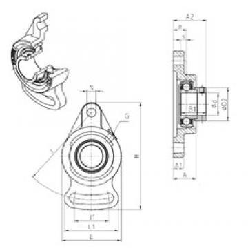 SNR ESFA208 Unidad De Rodamiento