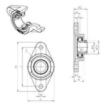 SNR USFL208 Unidad De Rodamiento