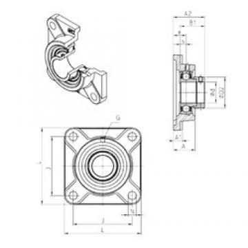 SNR ESF201 Unidad De Rodamiento