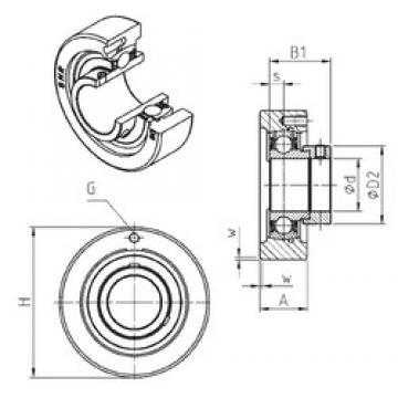 SNR ESC210 Unidad De Rodamiento