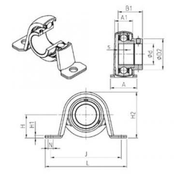 SNR ESPP203 Unidad De Rodamiento