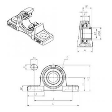 SNR USP204 Unidad De Rodamiento