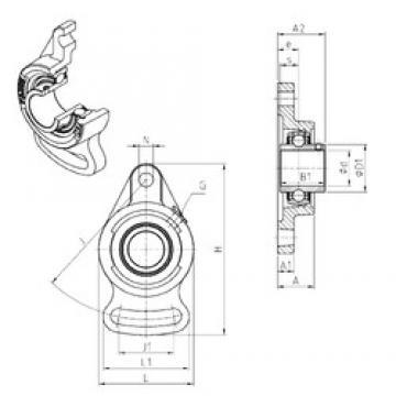 SNR UCFA208 Unidad De Rodamiento