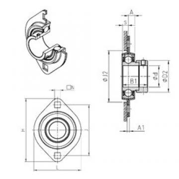 SNR ESPFL204 Unidad De Rodamiento