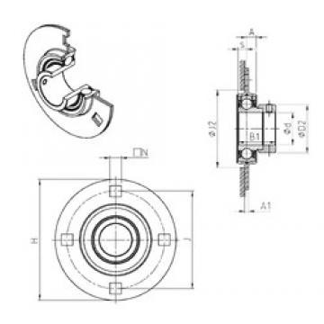 SNR ESPF211 Unidad De Rodamiento