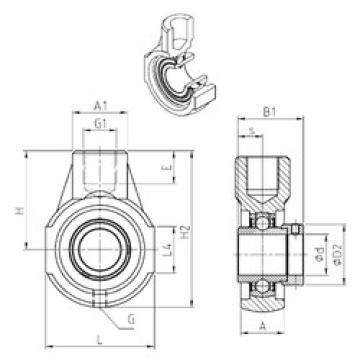 SNR EXEHE207 Unidad De Rodamiento